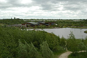 The National Forest (England) - Conkers Discovery Centre at Moira in the heart of the National Forest