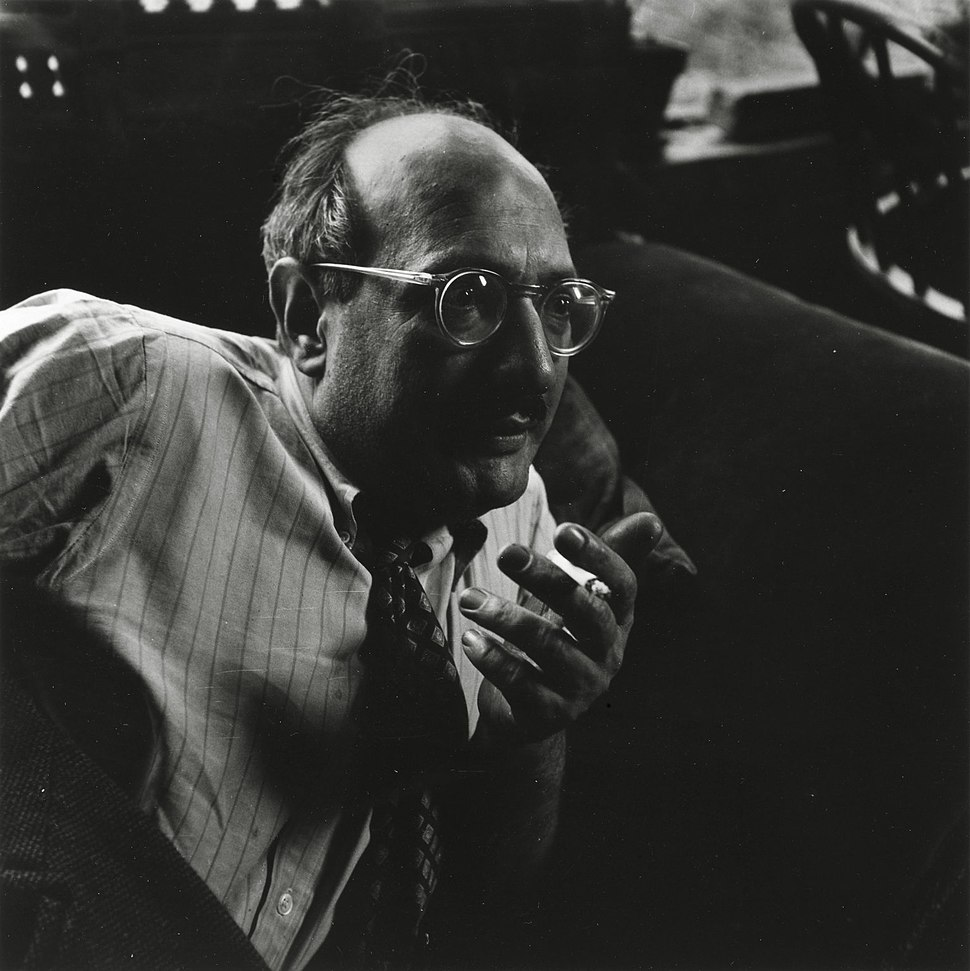 Consuelo Kanaga, Mark Rothko, Yorktown Heights, ca. 1949