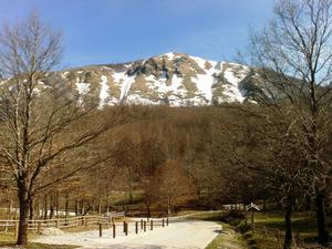 Appennino Lucano - Val d'Agri - Lagonegrese National Park - Image: Contrafforte nord del Monte Volturino (1.836 m) Monti della Maddalena (Potenza)