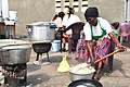 Cooking and Mixing of Rice, DRC (25765235658).jpg
