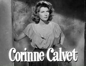 When Willie Comes Marching Home - Image: Corinne Calvet in When Willie Comes Marching Home trailer