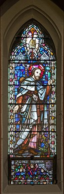 Cork SS Peter and Paul's Church North Aisle Window Blessed Thaddeus 2017 08 25.jpg