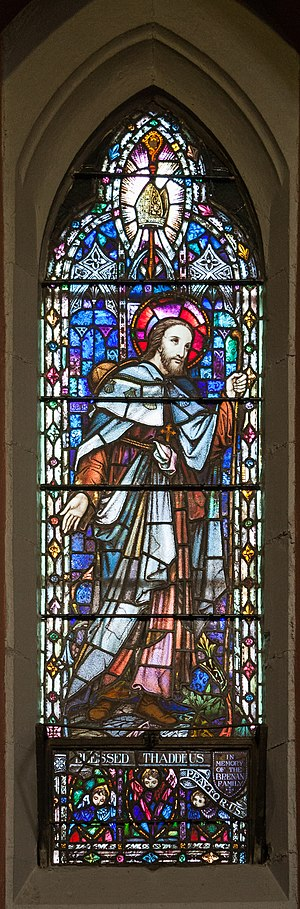 Thaddeus McCarthy - Image: Cork SS Peter and Paul's Church North Aisle Window Blessed Thaddeus 2017 08 25