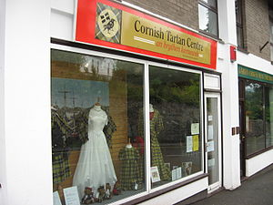 Cornish kilts and tartans - Cornish tartan shop in St Austell
