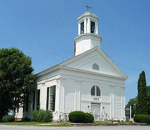 Cornwall, Vermont - Cornwall Congregational Church