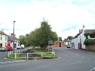 Cosby, Leicestershire - Cosby Village centre