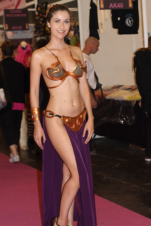 File:Cosplay de la Princesse Leia Organa de Star Wars à Japan Expo ...