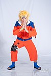 Cosplayer of Naruto Uzumaki from Naruto 20150628a.jpg