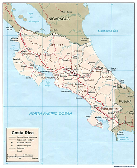 Map of Costa Rica. Costa Rica map detail.PNG