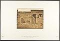 Cour du Palais Rhamsès-Meiamoun, à Médinet-habou (Thèbes) (Restes d'une Eglise Copte) MET DP131897.jpg