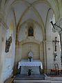 Couze-et-Saint-Front église St Étienne collatéral autel est.JPG
