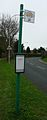 Cowes Somerton Roundabout bus stop.JPG