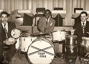 Cozy Cole - Photo by Ralph F. Seghers