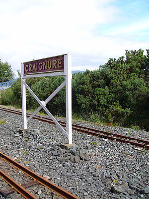 Isle of Mull Railway - Craignure Station in 2010