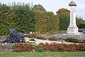 Cranbrook War Memorial, Howitzer and Plough - geograph.org.uk - 1500922.jpg