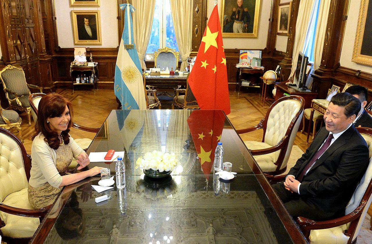 Resultado de imagen para argentina y china xi y cristina