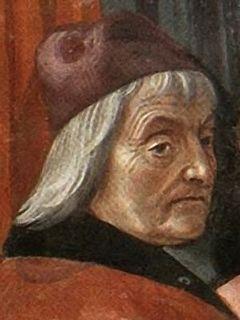 Cristoforo Landino humanist, philosopher and writer from Italy