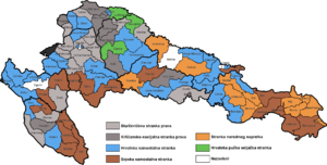 Croatian parliamentary election, 1913 - Image: Croatian Parliamentary Election Results 1913