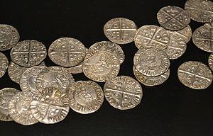Croat (coin) - A selection of croats from the Museu de Prehistòria de València