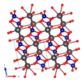 Crocoite crystal structure (Effenberger-Pertlik 1986) along b axis.png