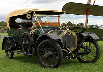 Crossley Motors - Crossley Model 15 (1912) from  Shuttleworth Collection