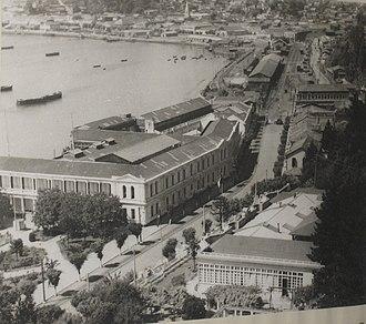 Chilean naval mutiny of 1931 - Cuartel de defensa de la costa in Talcahuano, 1935