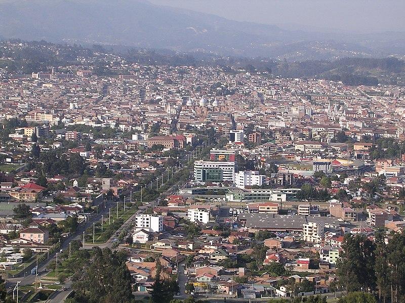Cuenca (Ecuador) from Turi.jpg