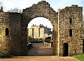 Culzean Castle Framed in Archway - panoramio.jpg