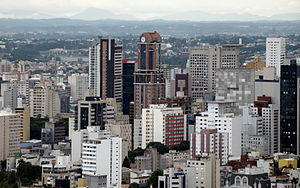 CuritibaTradeCenterSkyline