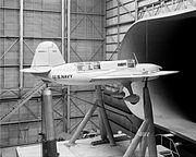 Curtiss XSO3C in wind tunnel 1940