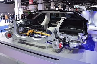Jaguar F-Pace - F-Pace cutaway