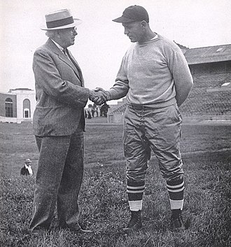 Cy Sherman - Cy Sherman with Glenn Presnell, c. 1943
