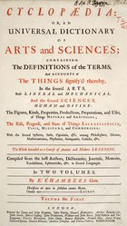Cyclopaedia, Chambers - Volume 1.djvu