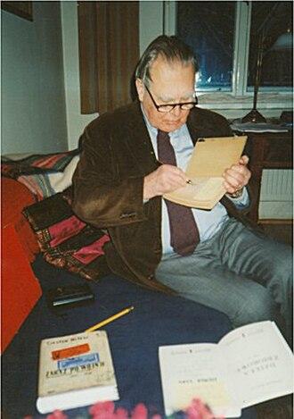 Czesław Miłosz - Miłosz, 1998