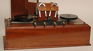 Magnetic detector - Marconi's wireless magnetic detector (London)
