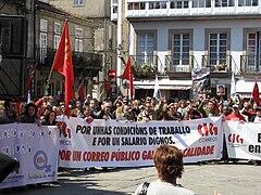 Día do traballo. Santiago de Compostela 2009 77.jpg