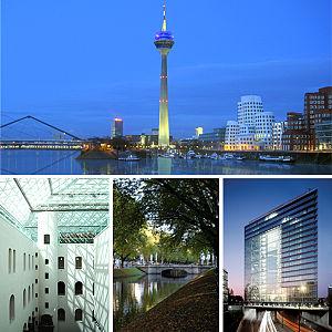Düsseldorf - Image: Düsseldorf Ansichten 2