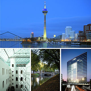 Düsseldorf Capital of North Rhine-Westphalia, Germany