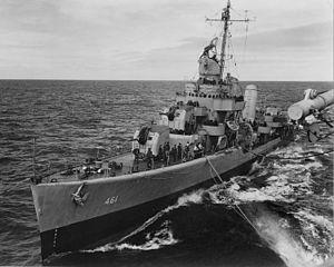 DD 461 USS Forrest