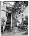 DETAIL OF STAIRWAY, WARREN UP TO HARDING - City of Ketchikan, Ketchikan, Ketchikan Gateway Borough, AK HABS AK,10-KECH,5-6.tif