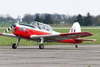 De Havilland Canada DHC-1 Chipmunk - A DHC-1 Chipmunk