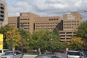 Detroit Medical Center - Harper Hospital and Hutzel Women's Hospital are part of the Detroit Medical Center
