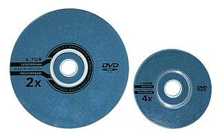 MiniDVD optical storage