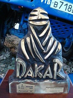Dakar Rally - 2011 Dakar Rally personal main prize (trucks T4)