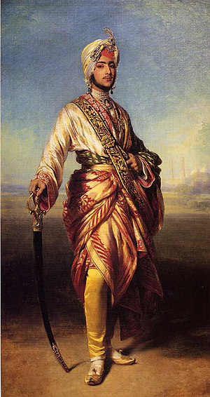 Sikh diaspora - Maharajah Duleep Singh, the first and most famous member of the Sikh diaspora