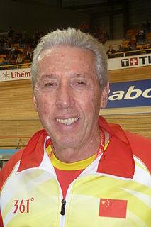 Daniel Morelon French racing cyclist