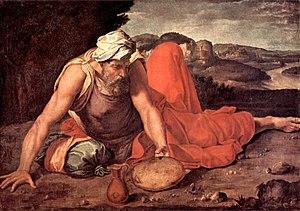 Daniele da Volterra - Daniele da Volterra, The Prophet Elias (circa 1550-1560); collection Pannocchieschi d'Elci, Siena.