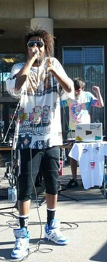 Danny Brown performing in 2012