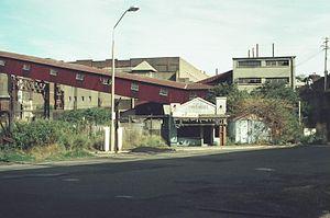 Milk bar - Milk Bar film-set from Strictly Ballroom at former Darling Island Junction rail yard, Pyrmont.