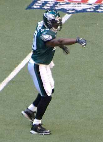 Darren Howard - Howard with the Eagles in 2007